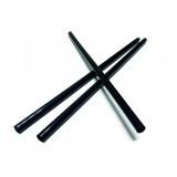 Трубочка 250мм/8мм/500шт для фреша черная прямая