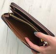 Большой кошелек реплика Louis Vuitton на молнии   LV   лв (0813) Монограм, фото 4