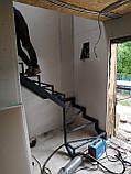 Поворотный универсальный каркас лестницы, фото 2