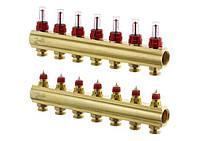 Распределительные коллекторы для системы напольного отопления FHF