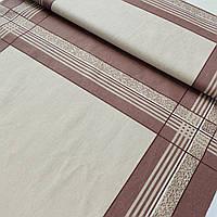 Ситец платочный для мужских носовых платков бежевый, ширина 50 см