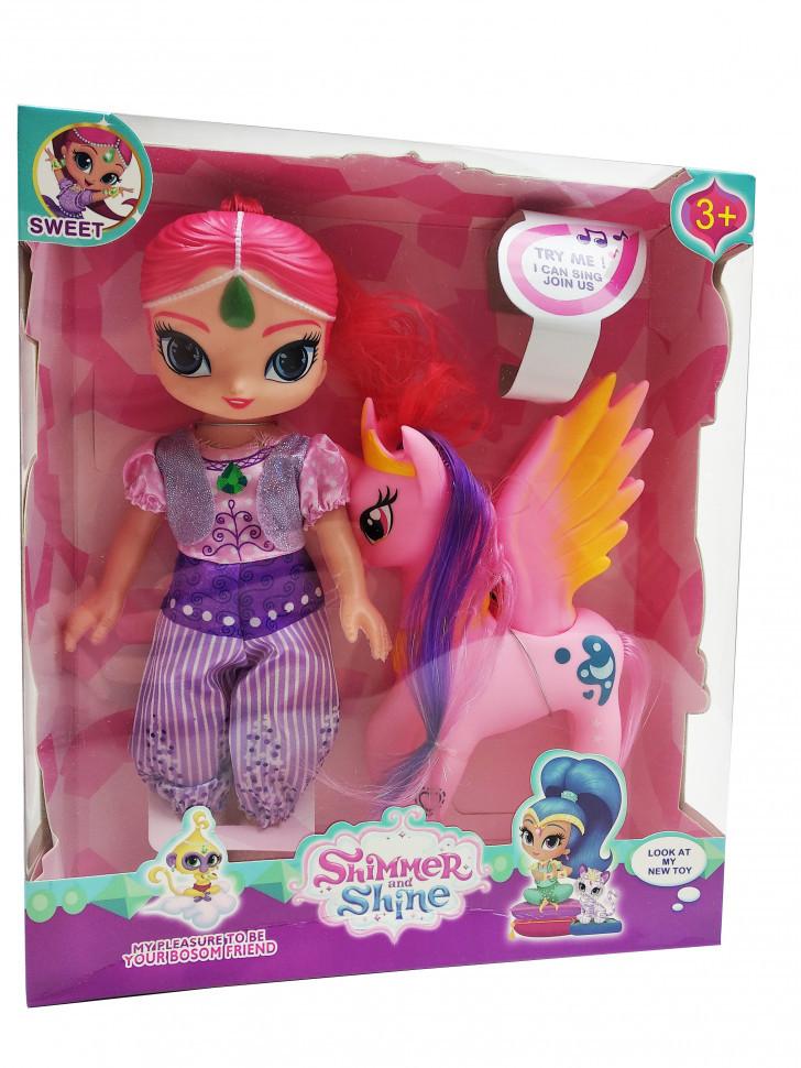 Кукла shimmer shine с фиолетовым пегасом 9933E (9933E(Pink))