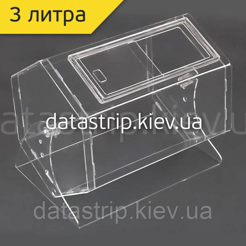 Лототрон 3 литра, прозрачный