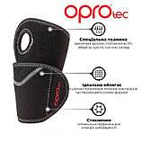 Напульсник на зап'ясті OPROtec Adjustable Wrist Support OSFM TEC5749-OSFM Чорний, фото 3