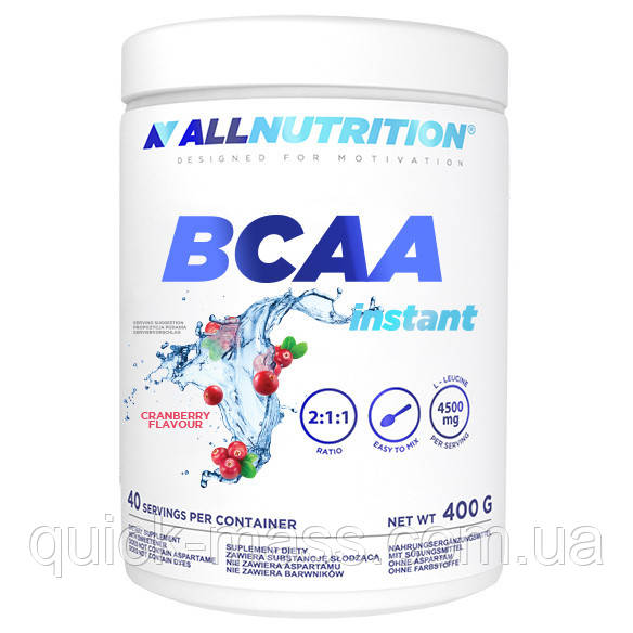 Амінокислоти All Nutrition BCAA Instant 400g