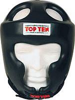 "Шлем защитный Top Ten ""Full Protection"" черный размер М"