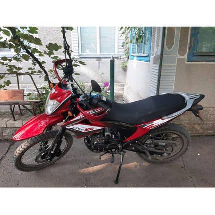 Мотоцикл Forte FT200GY-C5B (червоний), фото 2