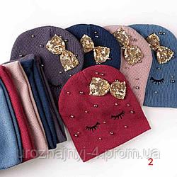 Комплект шапка и хомут р50-52 поштучно