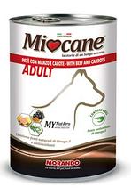 Консерва для собак Morando MioCane (Морандо Миокане) with Beef and carrots с говядиной и морковью, 400 г