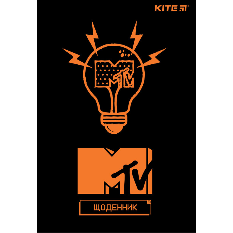 Дневник школьный Kite MTV MTV20-283, мягкая обложка, PU