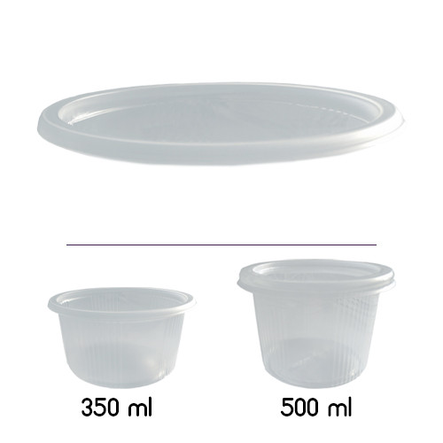 Крышка для супницы ПП-115 - 350/500 мл, 20 шт.