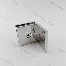 Соединитель стена-стекло HDL-722 CP полированный хром