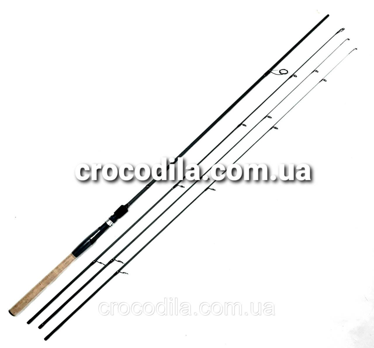 Спиннинговое удилище  Feima TRIFORCE 2.4 м с тремя хлыстами 0-10 гр, 3-15 гр и 5-20 грамм