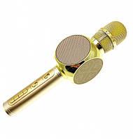Беспроводной Bluetooth микрофон для караоке RIAS YS-63 Golden (2_007589)