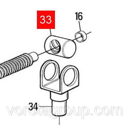 Гайка бронзовая с кронштейном для MB4024/5015/16/24