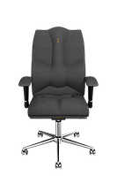 Эргономичное кресло KULIK SYSTEM BUSINESS Серое 605, КОД: 1335577