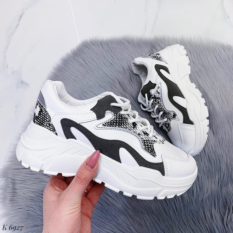 Женские Белые Легкие Кроссовки, Отличное качество, Размер 38