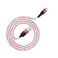 Кабель HOCO Micro USB Charming Night U85, червоний