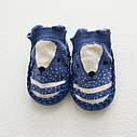 Дитячі шкарпетки з АНТИКОВЗАЮЧИЙ ПІДОШВОЮ синій колір (CM-13), фото 2