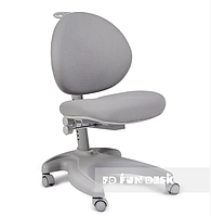 Ортопедическое кресло детское подростковое 4-18+ лет Cielo Grey ТМ FunDesk Серый 221776