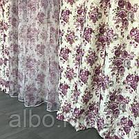 Шторы из атласа для зала кухни комнаты, шторы тюль в гостинную спальню кабинет, шторы комбинированые с тюлем, фото 7