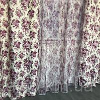 Шторы из атласа для зала кухни комнаты, шторы тюль в гостинную спальню кабинет, шторы комбинированые с тюлем, фото 6
