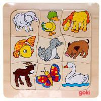 Развивающая игрушка Goki Кто чей (56879)