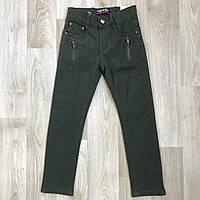 Хакі підліткові брюки 8-16 років. Польща - Niebieski