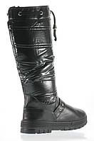 Женские сапожки до колена дутики  38