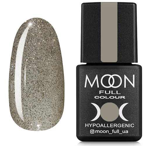 Гель-лак MOON FULL №329 серебристо-жемчужный шиммерный