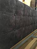 Угловая кровать Лион в мягкой обивке, фото 9