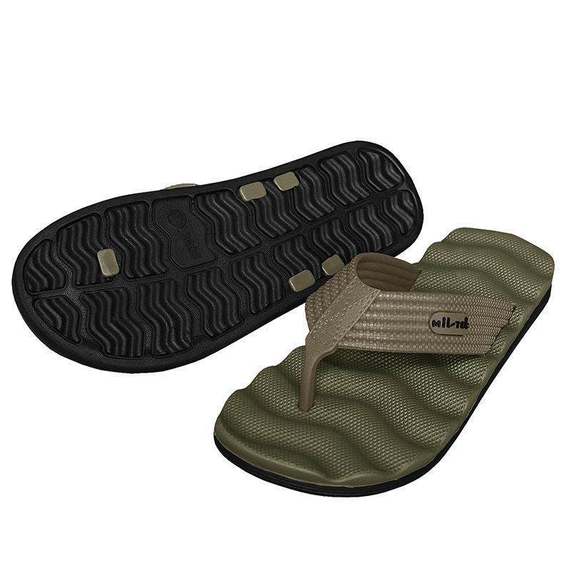 Шлепки Mil-Tec Combat Sandals (Olive)