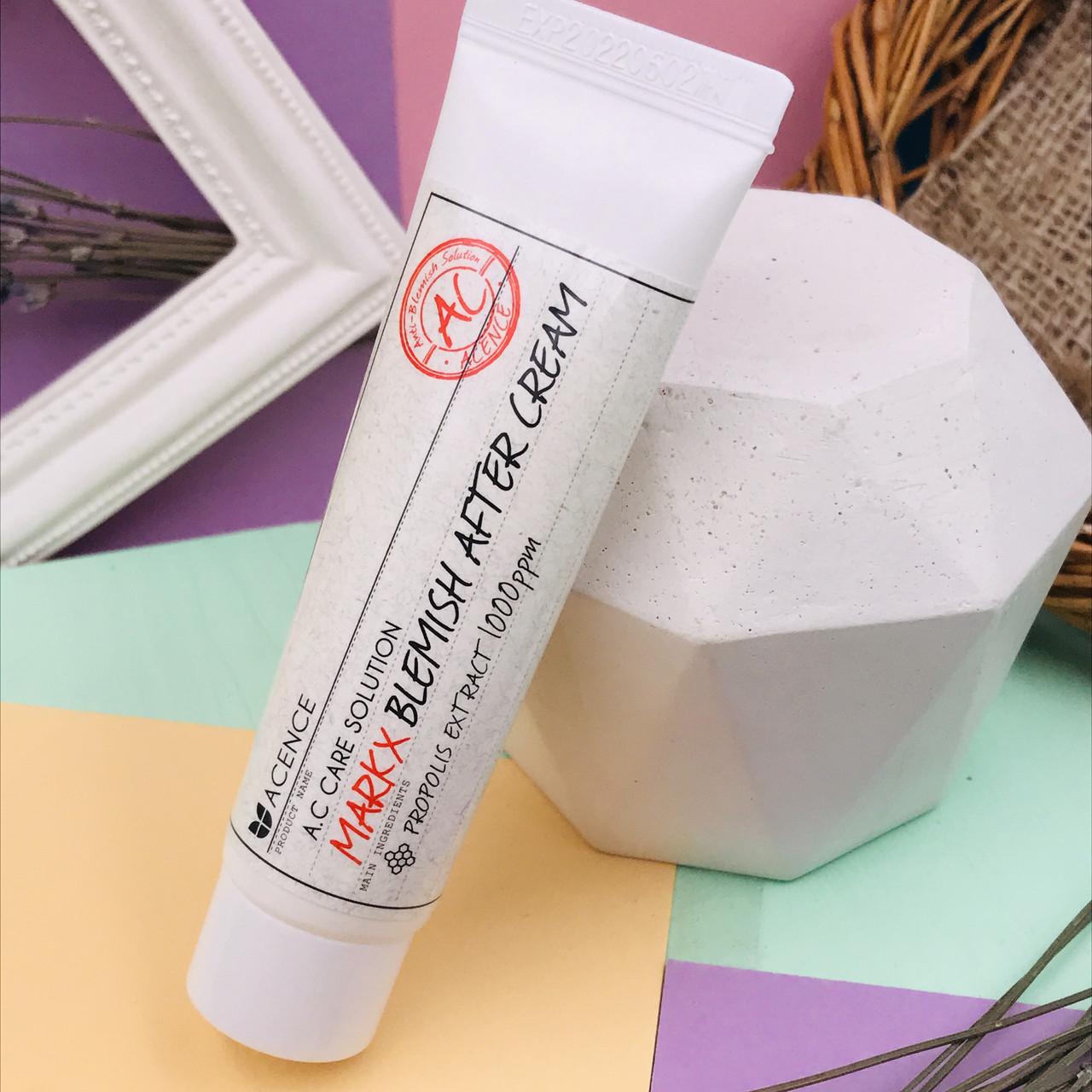 Эффективный крем для борьбы с акне и следами от акне Mizon Acence Mark X Blemish After Cream