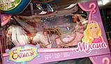 Карета с лошадью, принцессой и аксессуарами 209  лошадка ходит, звуковые эффекты, в коробке, фото 2