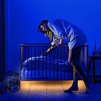Подсветка для Детской кроватки с датчиком движения | Ночник, Светильник, Ночная Лампа, led лента 1м