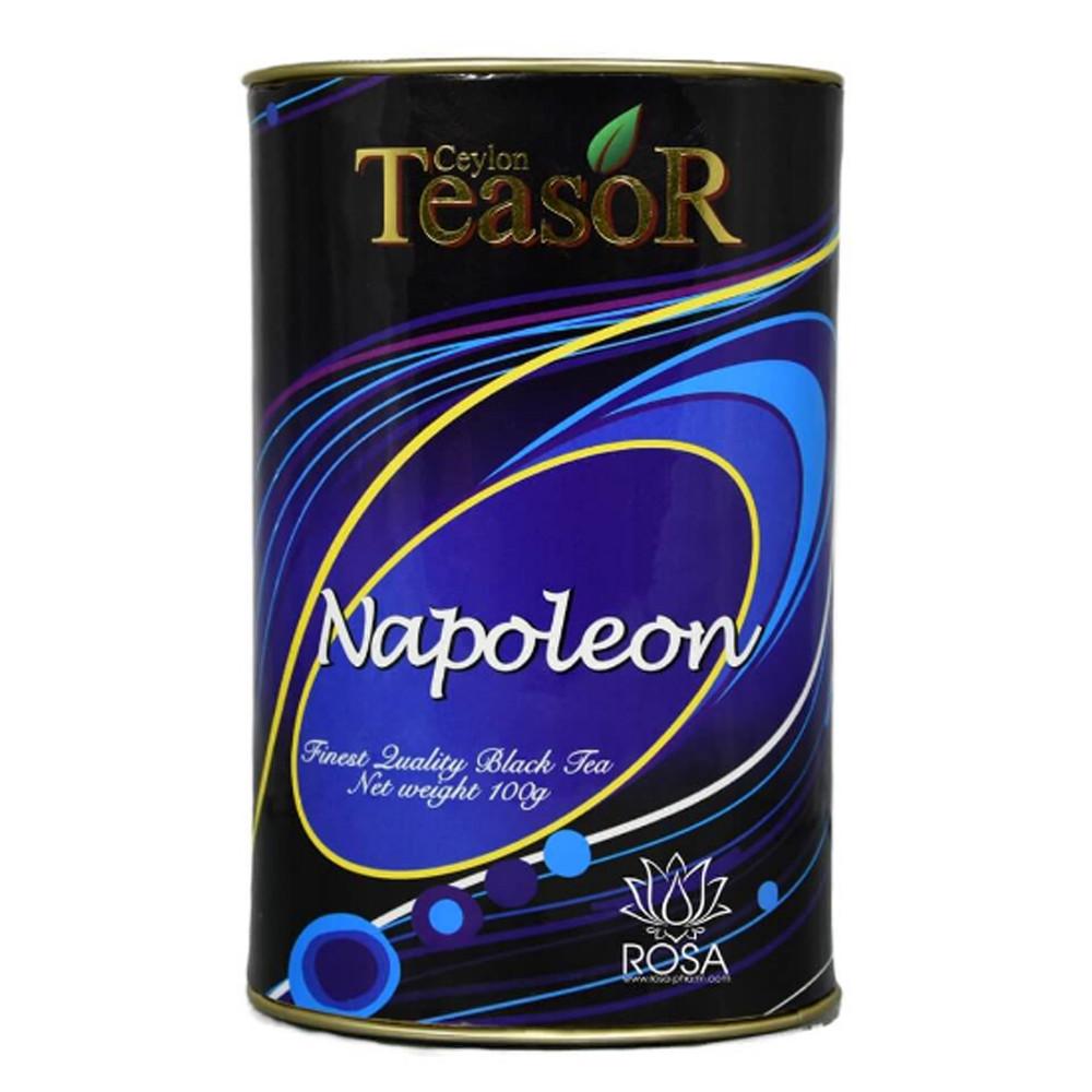 Чёрный чай Наполеон Тисор (Black Tea Napoleon, Teasor), 100 грамм. Тубус