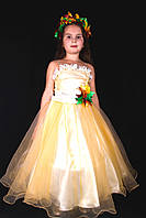 Костюм Королева Осень, осень, золотая осень, костюм листочек  прокат Киев