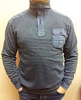Стильный мужской джемпер с накладным карманом