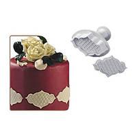 Плунжер Виньетка ажурная сеточка для мастики, фото 1