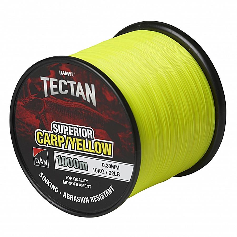 Леска DAM Damyl Tectan Carp 1000м 0,30мм  7,0кг (yellow)