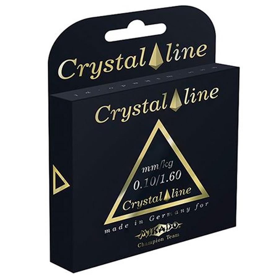 Леска Mikado Crystal Line 30м 0,20мм 5,65кг (прозрачный)