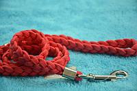 Поводок для собак капроновый плетеный