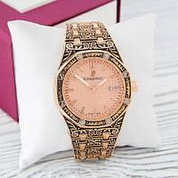 Наручные часы Audemars Piguet Royal Oak Quartz Gold-Pink Skull
