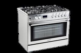 Кухня, газово-электрическая KWGE-K90 CHEFF MODERN Ravanson