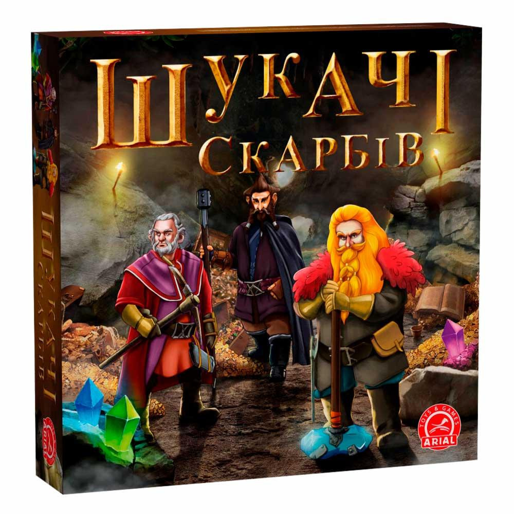 Искатели сокровищ Настольная игра Шукачі скарбів Arial Украина