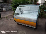 Холодильная витрина 1,25 бу. выкладка 94 см., фото 3