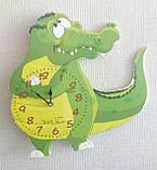 Дитячі настінні годинники Крокодил, Baby, фото 3