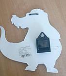 Детские настенные часы Крокодил зеленые арт.05-215 МДФ 22,5см*32,5см, фото 4