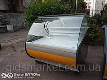 Холодильная витрина 1,25 бу. выкладка 94 см.