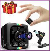 Мини экшн камера SQ11 автомобильный видеорегистратор Full HD 1080p камера ночного видения